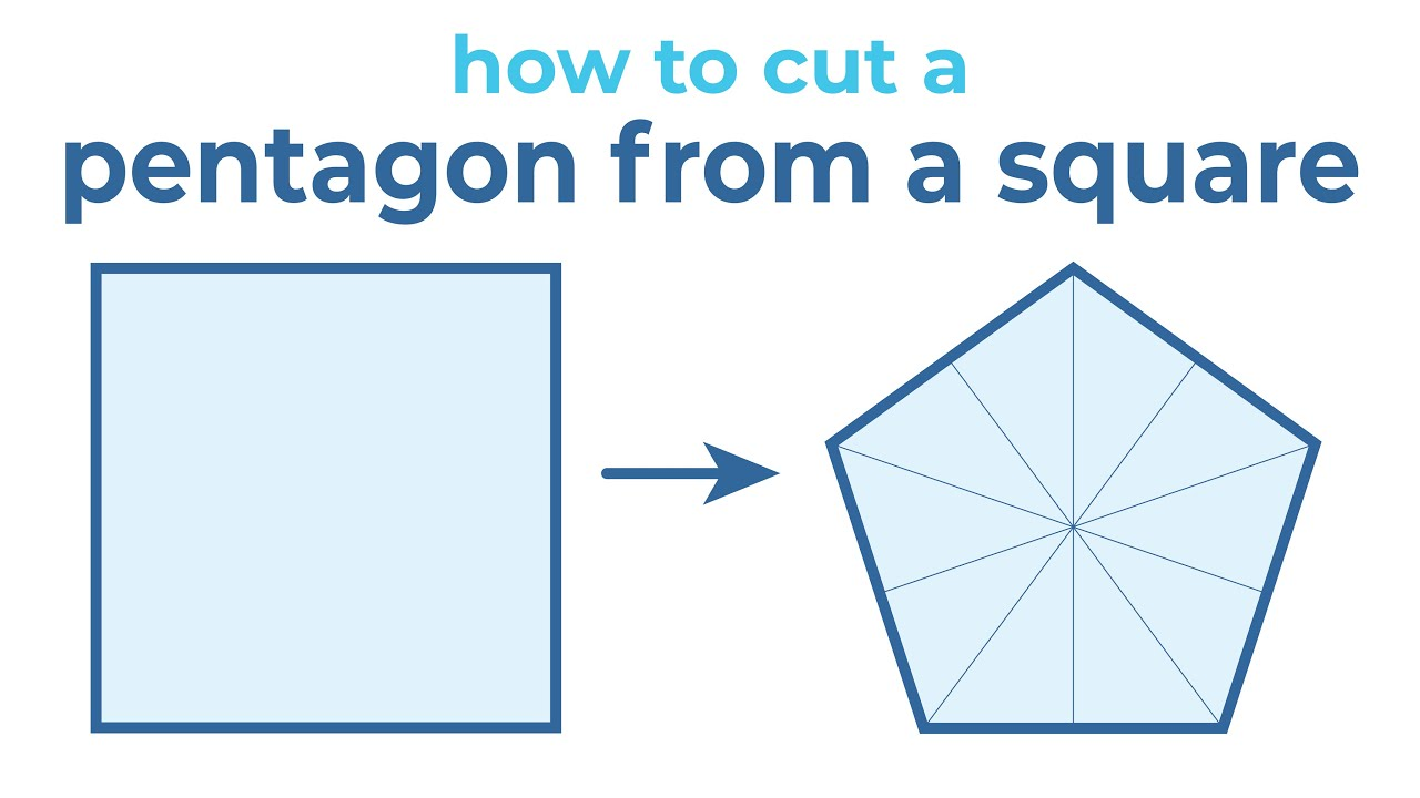 How to Cut a Pentagon From a Square