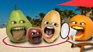 Annoying Orange - Last to Leave the Circle Wins a Vacation!