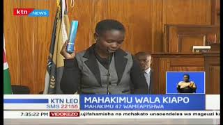 Jaji Mkuu David Maraga aongoza afla ya kuapisha Majaji 47