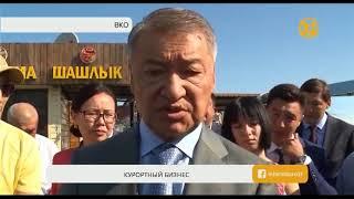 Аким ВКО подвел итоги визита на Алаколь
