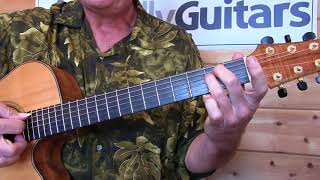 Our Lady Of The Well - Jackson Browne - Guitar Lesson