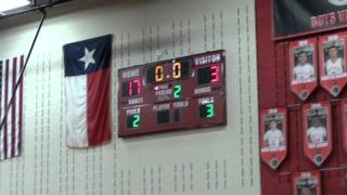 Liberty Redhawks Varsity Girls Basketball  vs Independence 01 12 2016