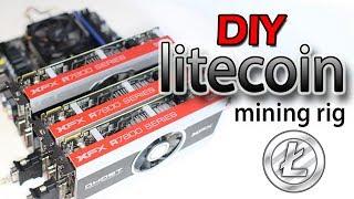 DIY Litecoin Mining Rig (Dogecoin, Worldcoin, Feathercoin)