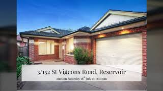 3/152 St Vigeons Road, Reservoir