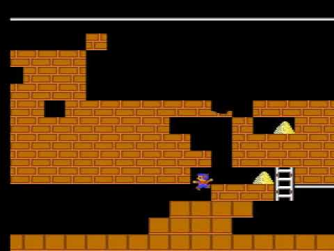 Lode Runner 1 - Stage 9 [0109]