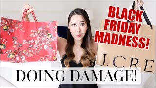 BLACK FRIDAY SHOPPING VLOG & WHAT I BOUGHT!