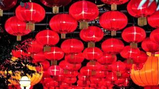 Video : China : Chinese New Year lantern display, ChengDu - video