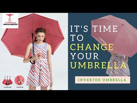 Inverted Umbrella is the 2018 best Umbrella - C-umbrella.com