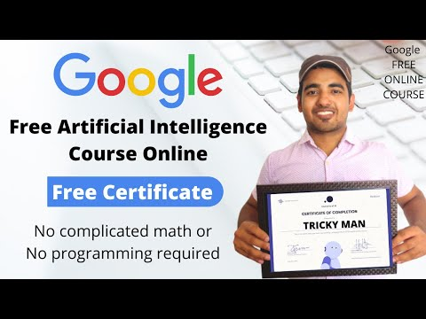 Google Free Artificial Intelligence Certification Course | Get Foreign ...