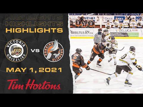 Grizzlies VS Nanaimo | May 1st | HIGHLIGHTS