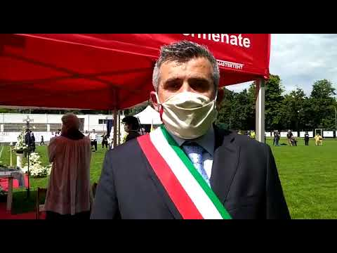 Funerali di Andrea Rinaldi – Il sindaco di Cermenate
