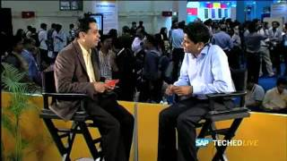 SAP LABS INDIA – V R Ferose Live interview at TECH ED, 2011 – 2