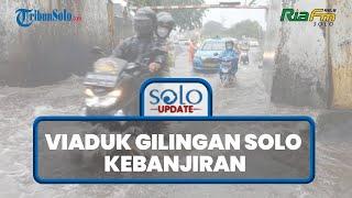Viaduk Gilingan Solo, Dekat Masjid Raya Sheikh Zayed Hadiah Pangeran Arab untuk Jokowi Kebanjiran