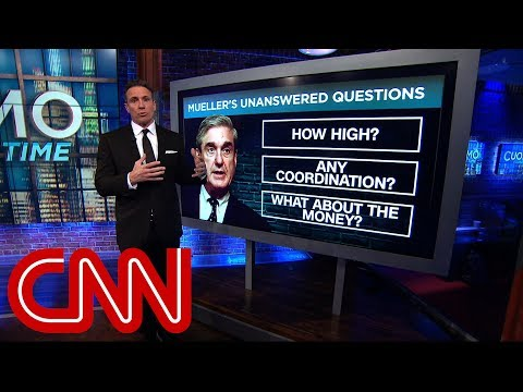 Cuomo explains how Mueller report will fill in the gaps