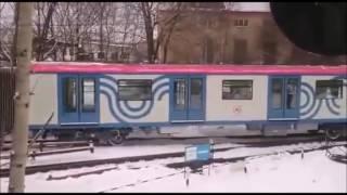 Новый Электропоезд серии 81-765 Москва Прибыл в Электродепо Сокол