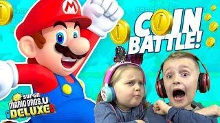 MARIO Family Battle! (New Super Mario Bros. U Deluxe for Nintendo Switch) KIDCITY GAMING