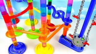 Aprende Colores con Tobogán de Canicas! Imaginarium Motorized Marble Maze