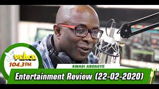 Entertainment Review Segment On Peace 104.3 FM (22/02/2020)