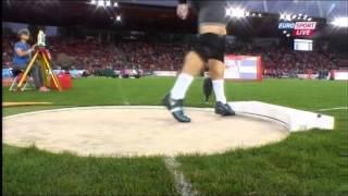 European Championship 2014 - Men's shot put - qualification + final - part 2