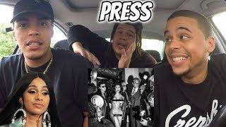 Cardi B - Press (Official Audio) | Reaction Review