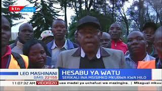 Mbuge wa Likuyani Dr. Enoch Kibunguchyimewahimiza wakaazi kutokata tamaa na kuendelea kuhesabiwa