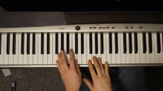 How To Play Roads By Portishead On Piano (Tutorial)   Music Song [Alex M]
