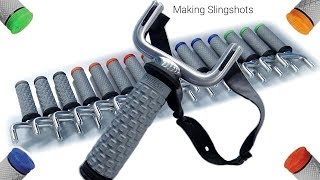 Making Aluminum Slingshots / Catapults (type #1) - TIG Welding