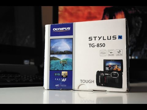 Olympus Stylus Tough TG-850 Unboxing