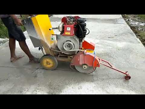 Concrete Cutting Saw Machine