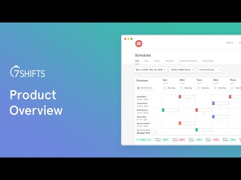 7shifts Product Overview youtube video thumbnail