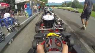 preview picture of video 'Intense GoKarting weekend in Magadino (crazy trafic) ! PT.1'
