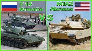 M1A2 Abrams VS T-14 Armata   Tech Comparison   Tank vs Tank #1