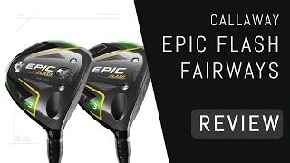 TXG reviews the Epic Flash fairway wood