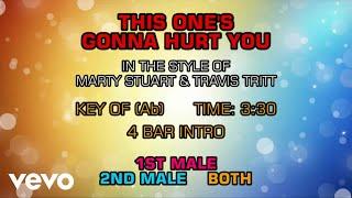 Marty Stuart - This One's Gonna Hurt You (Karaoke)