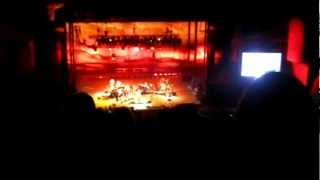 James Taylor ~ Red Rocks, CO just before the lights went out...7.24.12