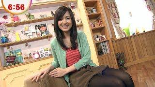 市道真央めざましテレビ「イマドキ」◆12/04/05