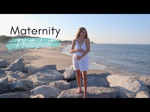 2nd Trimester Maternity Photoshoot // TEEN MOM VLOGS