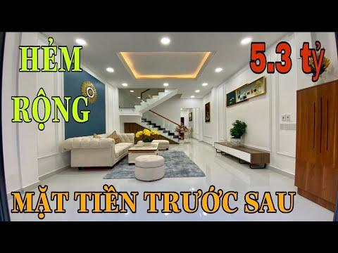 Bán nhà quận Gò Vấp | bán nhà giá rẻ gò vấp chỉ 5.35 tỷ sỡ hữu ngay nhà đẹp vị trí đẹp full nội thất