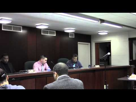 Mount Holly Township Public Meeting 11-10-2014