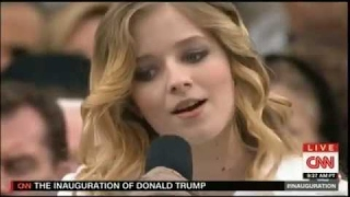 Jackie Evancho Sings National Anthem at President Donald Trump Inauguration