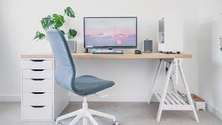 IKEA Desk SETUP + Home Office TOUR 2020