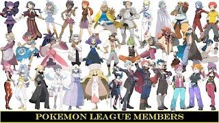Download Youtube: Pokemon League Members (Elite 4 & Champions)