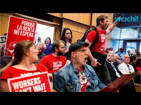Seattle Sees Unexpected Consequences From $15 Per Hour Min. Wage