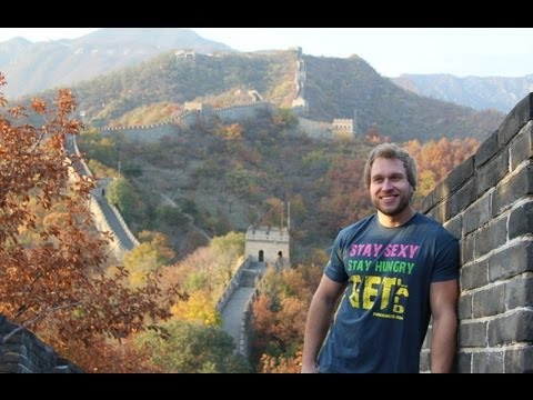 Video VISITING THE GREAT WALL OF CHINA!!!