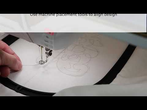 How to Quilt on your Embroidery Machine with OESD. This method is genius!