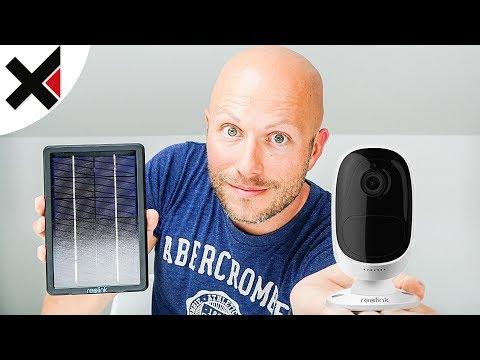 Kabellose, Akku-/Solarbetriebene WLAN Kamera Reolink Argus 2