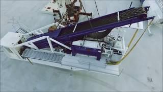 Полу-Мобильный (Быстромонтируемый) бетонный завод F-130 (130 м3/ч) Швеция от компании Строительное Оборудование - видео 1