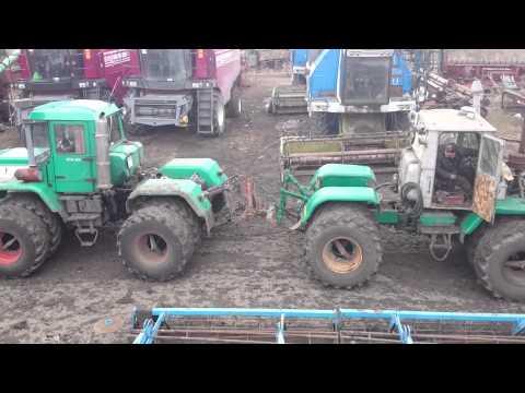 Тракторный армрестлинг ХТА против ХТЗ