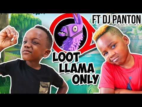 LOOT LLAMA *ONLY* Challenge Ft Gaming With DJ