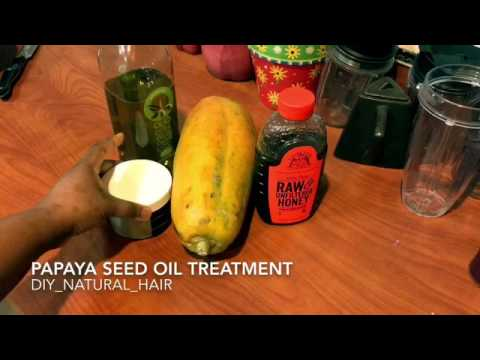 Pawpaw seed oil treatment
